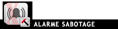 Alarme sabotage