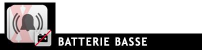 Batterie basse