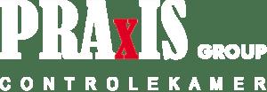 Logo PRAxIS GROUP NV INVERSED